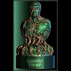 Swamp_Thing_fin2.jpg Download STL file Swamp Thing • 3D printable object, 3rdesignworks