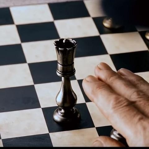 Download free 3D printing templates Professor X - Chess Set, 3rdesignworks