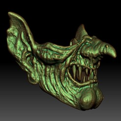 Download STL Witch Mask, 3rdesignworks