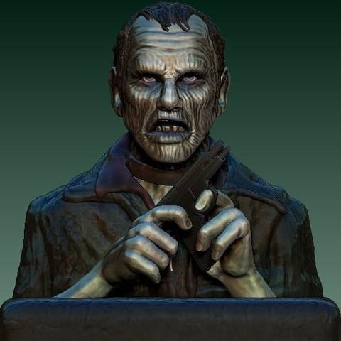Impresiones 3D Bub Zombie, 3rdesignworks