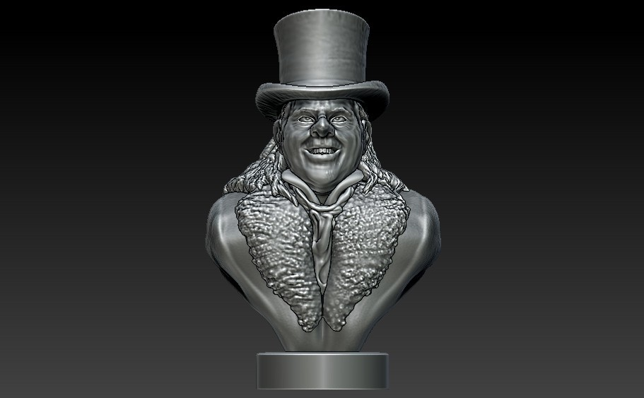 Penguin1d.jpg Download STL file Who's Holding the Umbrella? • 3D print design, 3rdesignworks