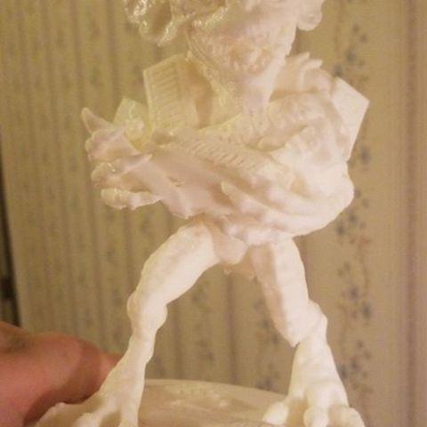 41851519_10205005935224329_2879792927930843136_n.jpg Download free STL file Stripe Gremlin • 3D printer model, 3rdesignworks