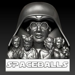 Spaceballs2b.jpg Download OBJ file Spaceballs, Full Set • Design to 3D print, 3rdesignworks