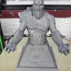 Download 3D printer templates God o' War PS controller holder, 3rdesignworks