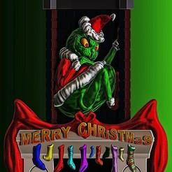 Download free STL files A Grinchy Christmas, 3rdesignworks