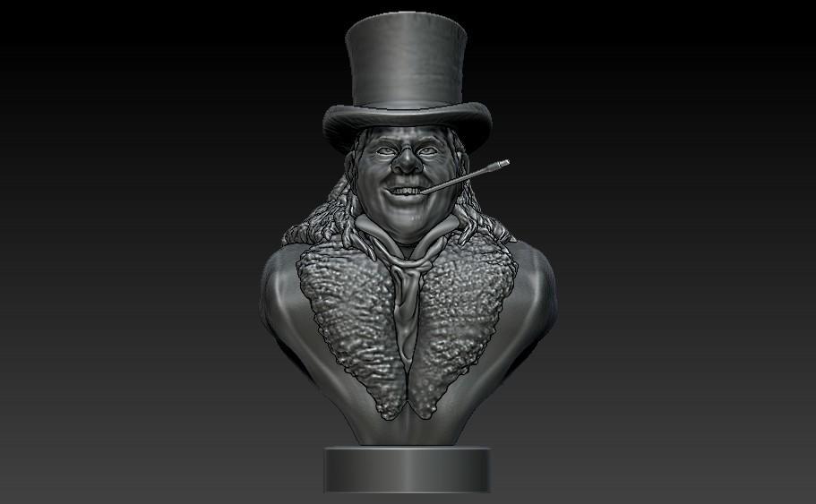 Penguin1.jpg Download STL file Who's Holding the Umbrella? • 3D print design, 3rdesignworks