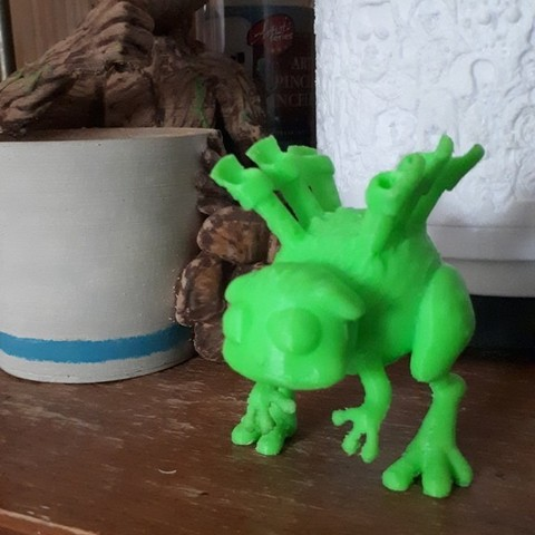 Free 3D printer files My Singing Monster - Reedling, 3rdesignworks