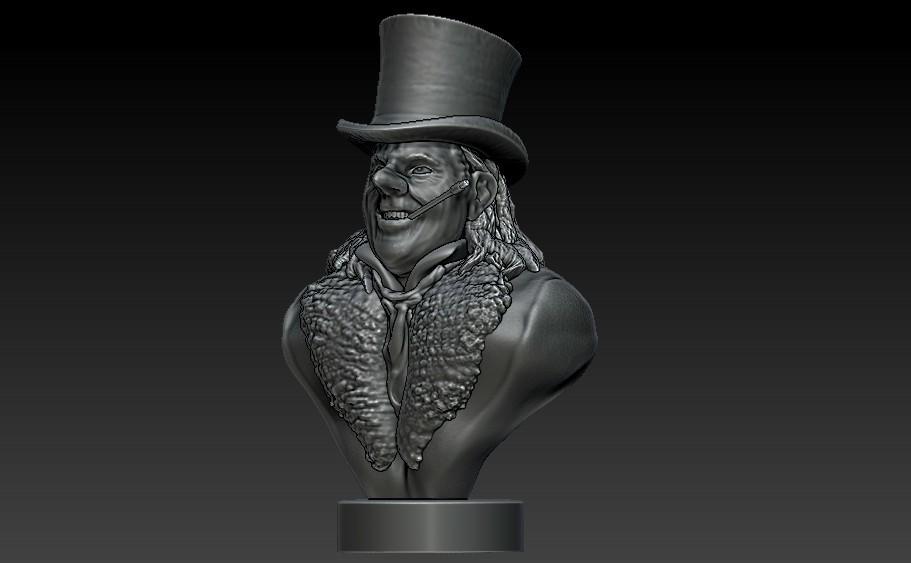 Penguin1a.jpg Download STL file Who's Holding the Umbrella? • 3D print design, 3rdesignworks