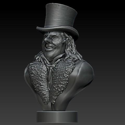 Penguin1a.jpg Télécharger fichier STL Qui tient le parapluie ? • Design imprimable en 3D, 3rdesignworks