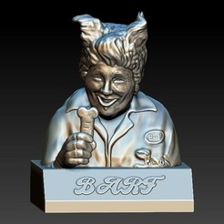 Download free 3D printing files Spaceballs - Barf , 3rdesignworks