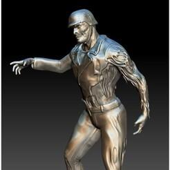 Archivos 3D gratis Zombie Biker, 3rdesignworks
