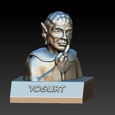 Download free 3D printing designs Spaceballs - Yogurt, 3rdesignworks