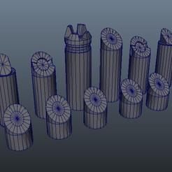 Télécharger fichier STL gratuit Jeu d'échecs simple • Plan à imprimer en 3D, Patenaude