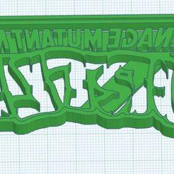 Download STL file Teenage Mutant Ninja Turtles Cookie Cutter • Template to 3D print, Patenaude