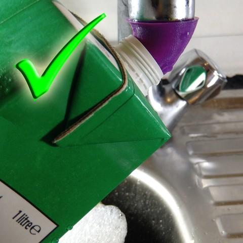 9.jpg Télécharger fichier STL gratuit Bec de robinet de cuisine économiseur d'eau • Design pour imprimante 3D, Mirthin