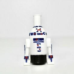 1f30a5f7-4209-4315-9471-84798e396ca5.jpg Download STL file SHISHA R2D2 NOZZLE • Model to 3D print, Smoker_3D