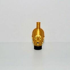 9753472e-d90d-4955-8486-016f1bffb7d7.jpg Download STL file SHISHA C3PO NOZZLE • 3D printer template, Smoker_3D