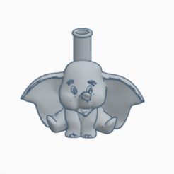 DUMBO.png Download STL file SHISHA DUMBO NOZZLE • Design to 3D print, Smoker_3D