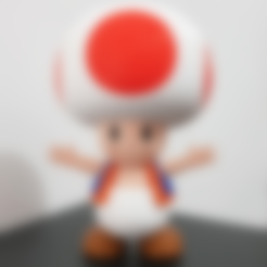 Download free 3D printer designs Toad from Mario games - Multi-color, bpitanga