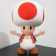 Télécharger objet 3D gratuit Toad from Mario games - Multi-color, bpitanga