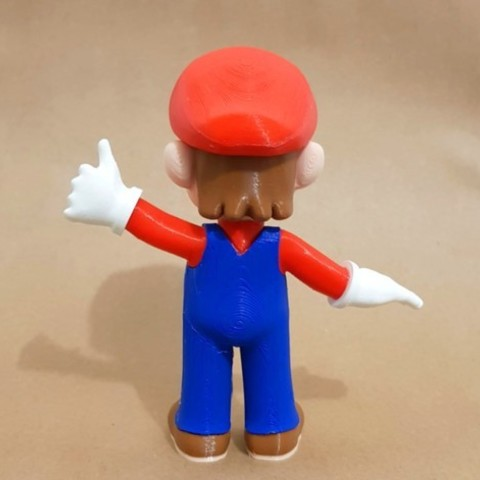 f99687dd719c4e8bc6a39e946c3d9ef7_preview_featured.jpg Download free STL file Mario from Mario games - Multi-color • 3D print design, bpitanga
