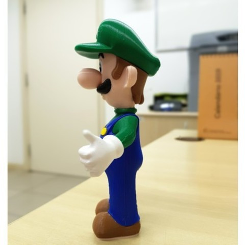 2de40e0d504f583cda7465979f958a98_preview_featured-1.jpg Download free STL file Luigi from Mario games - Multi-color • 3D printing design, bpitanga