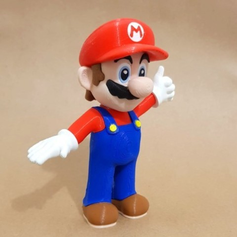2de40e0d504f583cda7465979f958a98_preview_featured.jpg Download free STL file Mario from Mario games - Multi-color • 3D print design, bpitanga