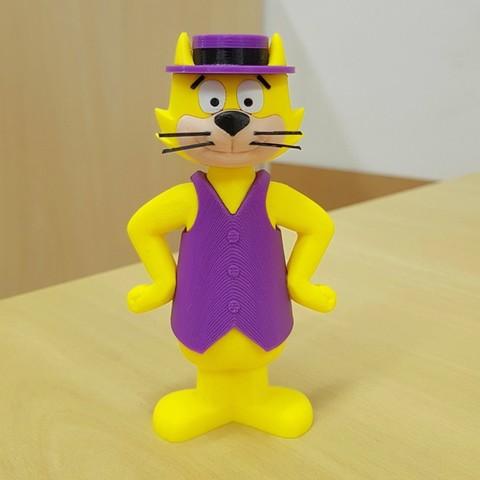 Imprimir en 3D gratis Top Cat - multicolor, bpitanga