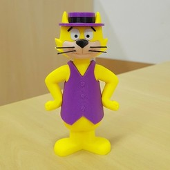 Descargar Modelos 3D para imprimir gratis Top Cat - multicolor, bpitanga