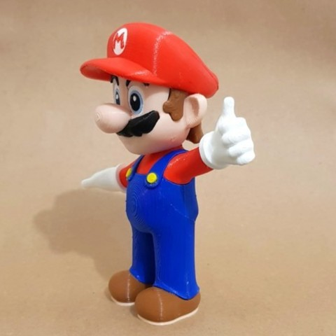 3fb5ed13afe8714a7e5d13ee506003dd_preview_featured.jpg Download free STL file Mario from Mario games - Multi-color • 3D print design, bpitanga