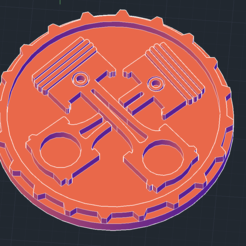 Free 3D printer file Piston Art, javiergarciamayorga1