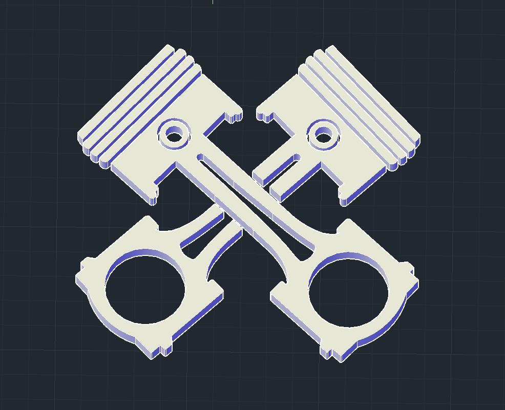 CuadroPistones2.PNG Download free STL file Piston Art • Model to 3D print, javiergarciamayorga1