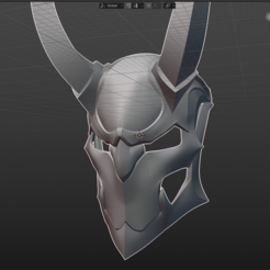 Download STL file blood moon jhin helmet • Design to 3D print, kromerprops