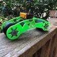 bike003.jpg Download free STL file AUG 2018 UFO Project, Drift Motorcycle • 3D printer template, Alien3d