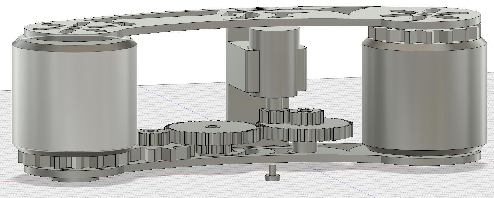 gear-setup001.png Download free STL file AUG 2018 UFO Project, Drift Motorcycle • 3D printer template, Alien3d