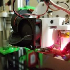 Télécharger modèle 3D gratuit 40mm E3Dv6 Clone Intake, Alien3d