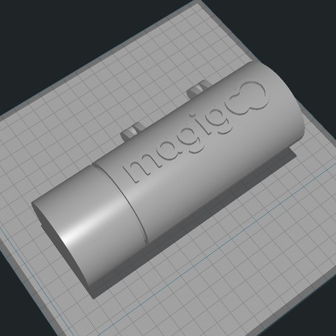 MagiGooDeliveryBox001.jpg Download free STL file Magigoo Corporate Hinged Gift Delivery Box • 3D printable design, Alien3d