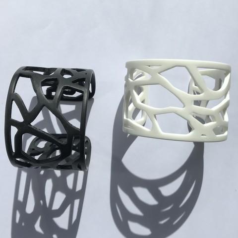 Download free STL Thermoformed bracelet Mucem, yutik