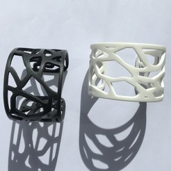 Download free STL Thermoformed bracelet Mucem, yutik