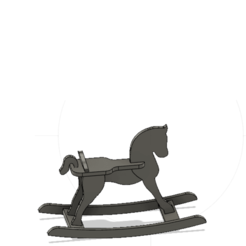 3D print files Rocking horse, jeojeo27