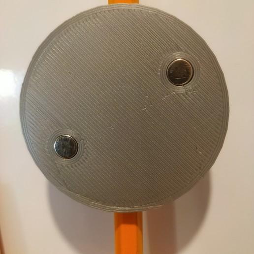 IMG_20190906_193336.jpg Télécharger fichier STL gratuit Porte-aimant porte-crayon pour réfrigérateur • Objet à imprimer en 3D, Torvast