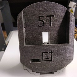 Download free 3D printer templates  OnePlus 5T with Spigen Rugged Armor dock, Torvast