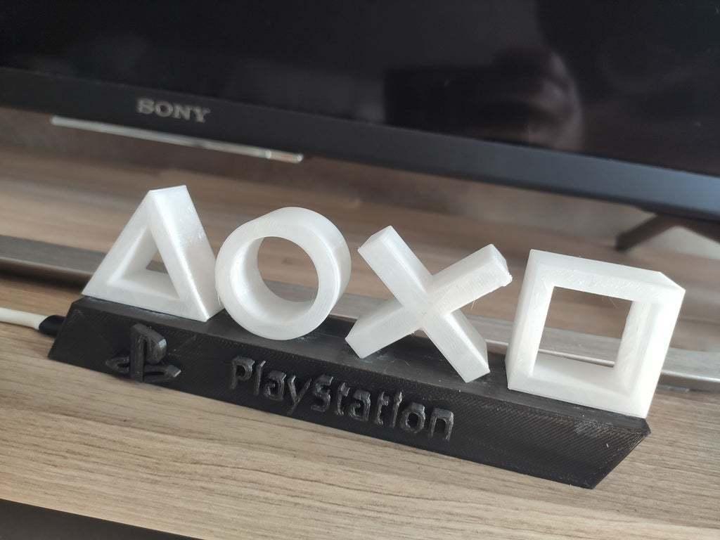 PS4_lampe_2.jpg Télécharger fichier STL gratuit Mini lampe de Playstation • Objet pour imprimante 3D, ygallois