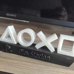 Download free 3D printing designs Playstation  mini lamp, ygallois