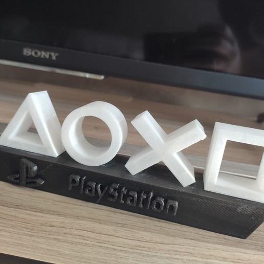 PS4 lampe 2.jpg Download free STL file Playstation lamp • Template to 3D print, ygallois