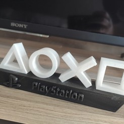 Download free 3D printing templates Playstation lamp, ygallois