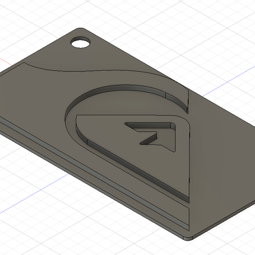 Download free 3D printer model Quicksilver keychain, ygallois