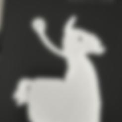 Télécharger fichier impression 3D gratuit Porte-clés Llama Fortnite, ygallois