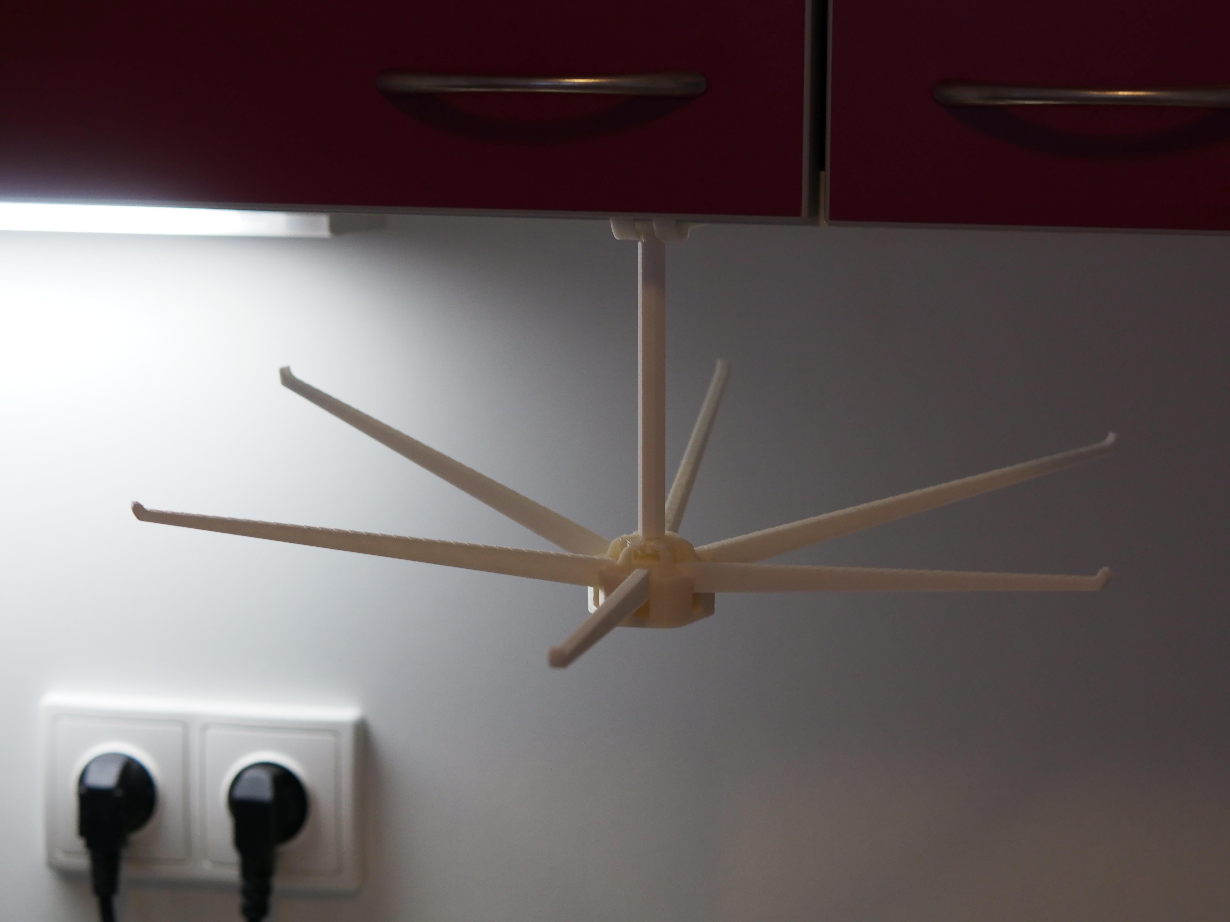 P3100444.JPG Télécharger fichier STL gratuit Séchoir pliant pour pâtes fraîches maison / Lasagnes / Tagliatele • Objet à imprimer en 3D, kumekay