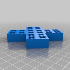 Télécharger fichier 3D gratuit Premiers secours USB - stand pour 20 dongles USB, kumekay